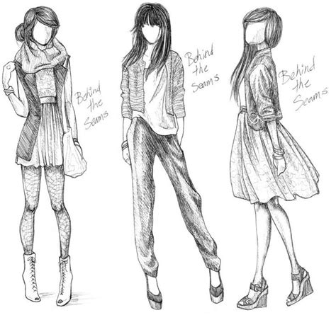 Sketches Clothes by 25 Best Ideas About Clothing Sketches On