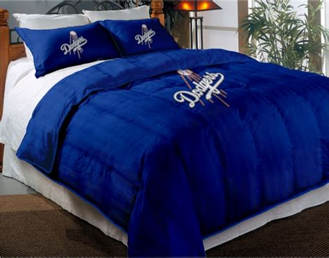 dodgers bed set los angeles dodgers mlb twin chenille embroidered