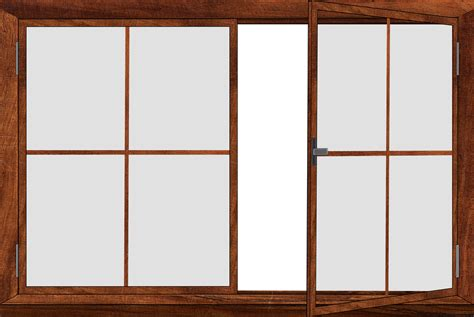 L 930 Transparent Open Front free illustration window window frames png glass