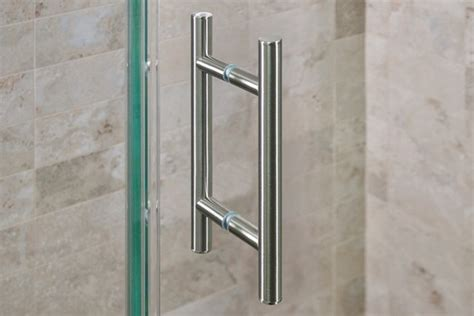 Towel Bars For Shower Doors Shower Door Hardware Modern Towel Bars And Hooks Dc Metro By Dulles Glass And Mirror