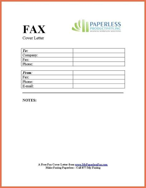 fax cover template pacq co