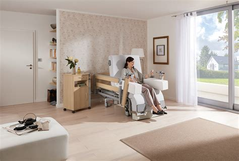 vertica homecare  mobilisation bed burmeier gmbh