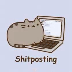 Cat Meme Gif - 4chan pusheen gif 4chan pusheen cat discover share gifs