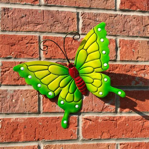 Outdoor Wall Decor Large by Butterfly Large New Green Metal Butterflies Wall