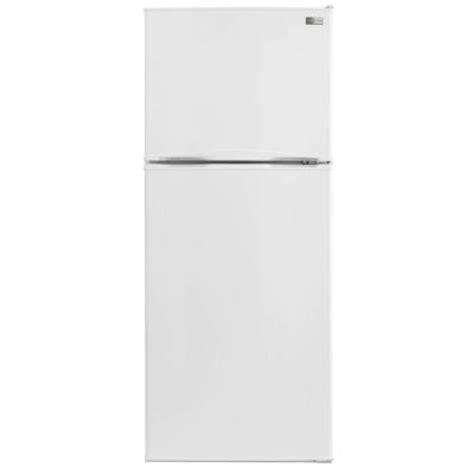 Apartment Fridge Home Depot Frigidaire 9 9 Cu Ft Top Freezer Refrigerator In White