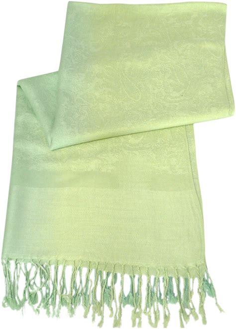 Pashmina Two Tone No 3 green two tone design pashmina shawl scarf wrap pashminas shawls new a3040 cj apparel