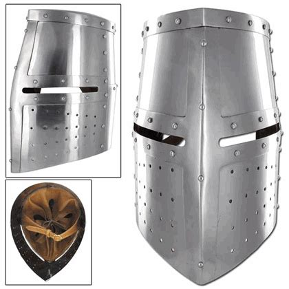 Helm Cross Snail Mx 315 middle ages great helm iron cross armor helmet 5h3 in2252 he