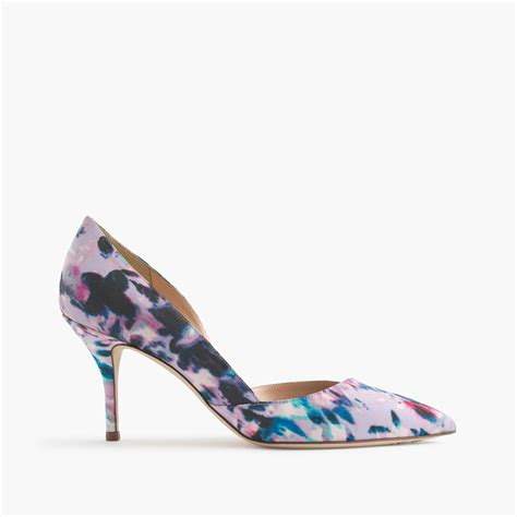 River Island Satin Dorsay Pumps by J Crew Colette Fabric D Orsay Pumps Lyst