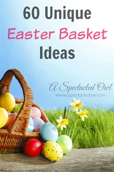 unique easter basket ideas for 60 unique easter basket ideas a spectacled owl