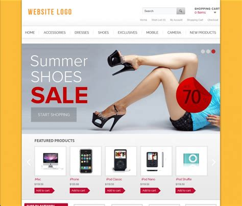 templates for website for online shopping free download design templates live free website