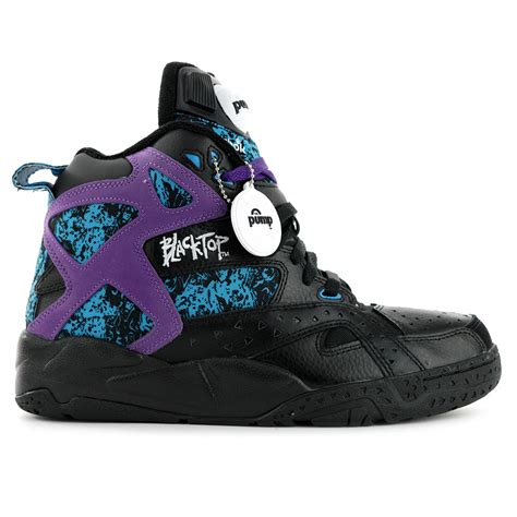 Reebok Classic Purple High Murah reebok men s classics blacktop battleground black purple