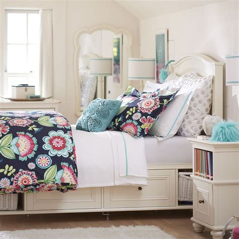 teenager beds pottery barn teen chelsea storage bed cool kids rooms