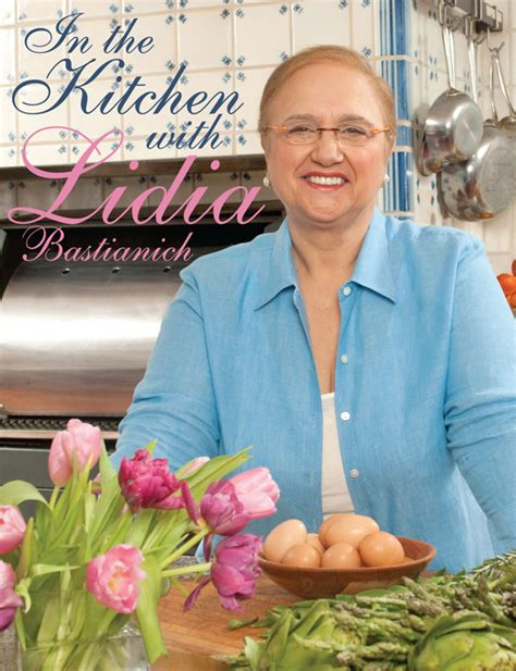 Lydia Kitchen by American Chef And Author Lidia Bastianich Dines At Gariful
