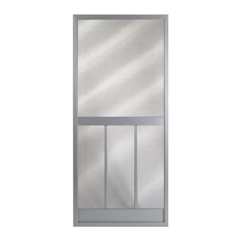 Screen Doors Lowes shop columbia mfg 35 1 4 in steel screen door at lowes