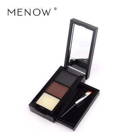 Menow Eyebrow Black N Brown Eyeliner m n menow brand eyebrow color eyebrow brush with three dimensional waterproofing make up