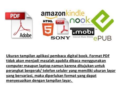 pemilihan format buku digital simulasi digital kelas x e book 1