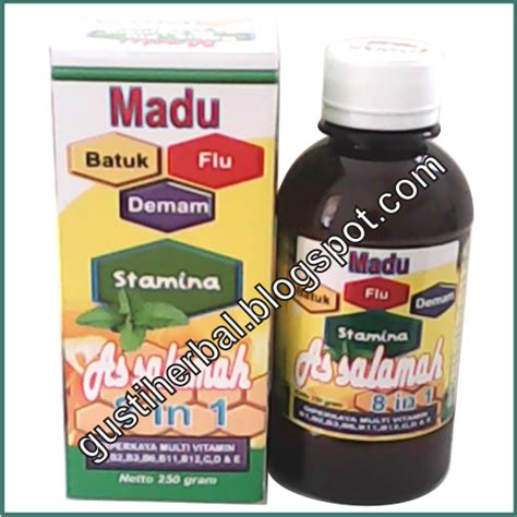 Madu As Salamah 8 In 1 Batuk Flu Demam Stamina Assalamah 2 dunia herbal
