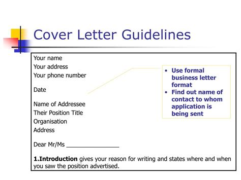 Cover Letter Essential Criteria by Ppt Resumes Selection Criteria And Cover Letters