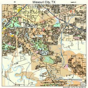 missouri city map 4848804