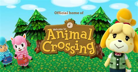 animal crossing the official home for animal crossing home