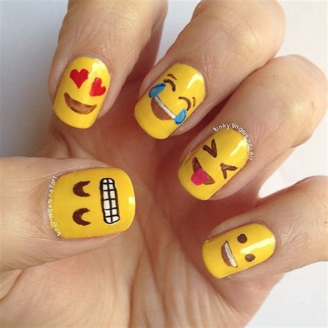 emoji nail art tutorial emoji nail art car interior design