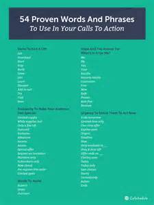 how to write a call to with 54 words 6 exles