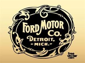 Ford Motor Company Ford Motor Company Logo Vector Graphics