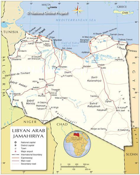 map of libya libya nfzone an in the escalator the hill