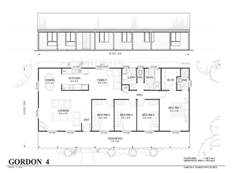 affordable 4 bedroom house plans 4 bedroom metal home