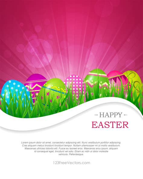 abstract easter wallpaper abstract colorful easter background vector by