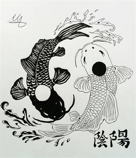 tattoo nightmares koi yin yang yin yang koi fish by martynes9n on deviantart