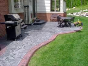 Diy Concrete Backyard Diy Concrete Patio Ideas Images