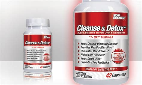Top Secret Nutrition Cleanse And Detox by Top Secret Nutrition Cleanser Groupon Goods