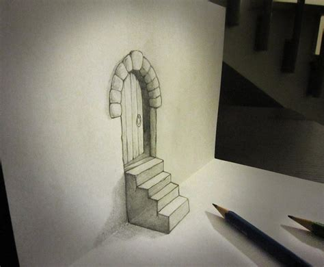 3d sketch drawing 3d pencil sketches the awesomer