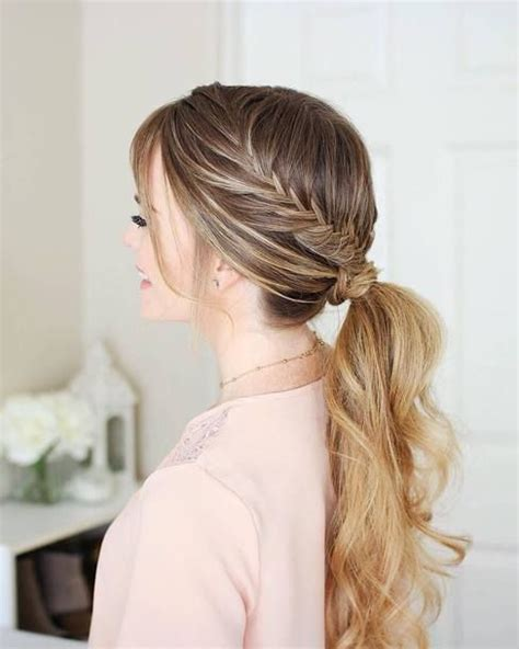 Wedding Hair Bridesmaid by The 25 Best Bridesmaid Ponytail Ideas On Prom