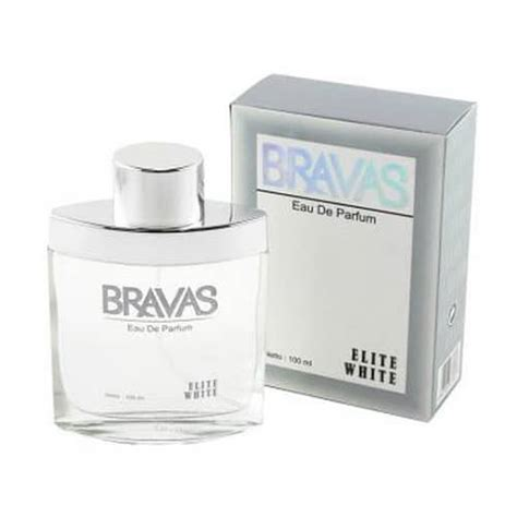 parfum bravas elite white original pusaka dunia