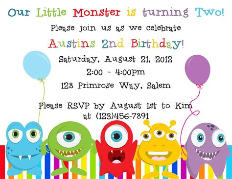 free printable monster birthday decorations little monster birthday invitation digital by