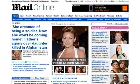 online newspaper websites continue to grow as print