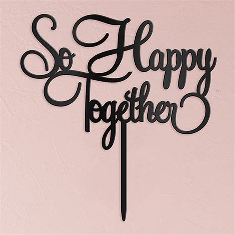 So Happy Together by So Happy Together Cake Topper