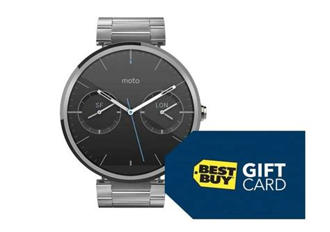 Discount Best Buy Gift Card - cult of android buy the moto 360 from best buy and get a 50 gift card