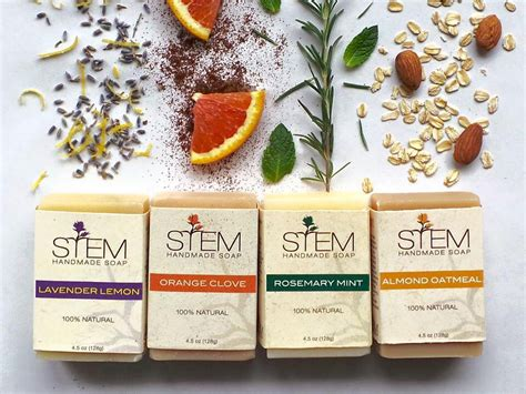 List Of Handmade Products - stem handmade soap lakewood ohio