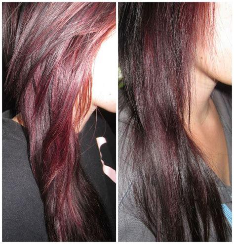 deep burgundy brown hair color gaby s beauty blog project burgundy hair revlon