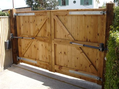 large gate the electric opening system fitted to large sortwood gates in worthing west sussex jpg