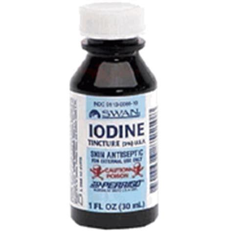 Iodine Halogen Detox by Tincture Of Iodine