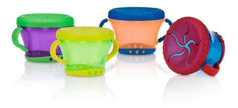 Nuby Snack Keeper 2 Pack Blue Green snack keeper buybabydirect
