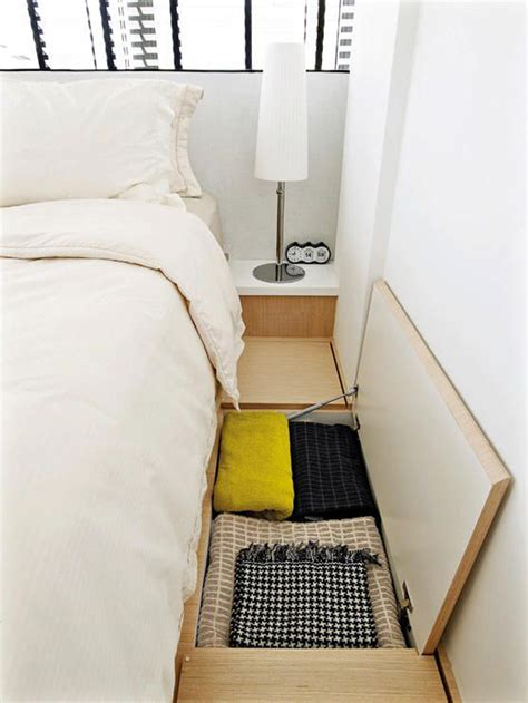 space solutions for small bedrooms bedroom floor storage for small space solution