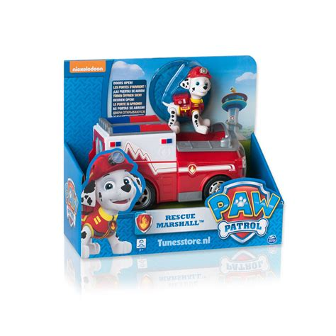 speelgoed paw patrol paw patrol rescue marshall speelgoed voertuig
