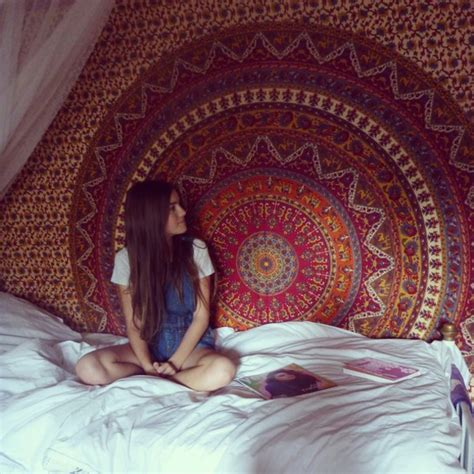 Boho Bedroom Tapestry Blouse Hippie Bedding Boho Tapestry Bohemiam