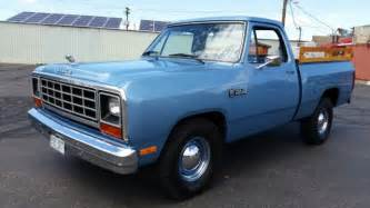 Dodge Ram 1985 For Sale 1985 Dodge Ram D 100 Beautifully Restored 46000 Original