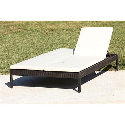 outdoor furniture chaise double chaise lounge outdoor wicker modern patio outdoor